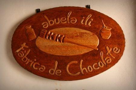 Abuela Ili, fabrica de ciocolată din Bubion, Spania