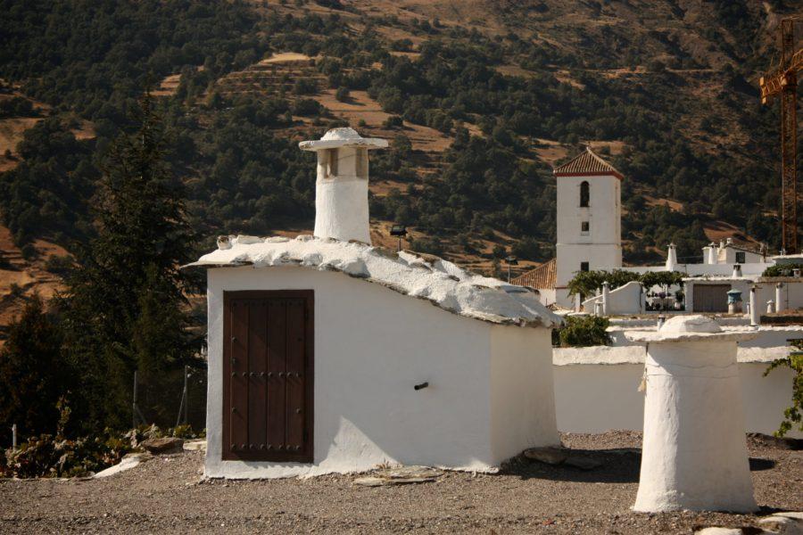 Acoperis casa in Capileira, Alpujarra, Sierra Nevada