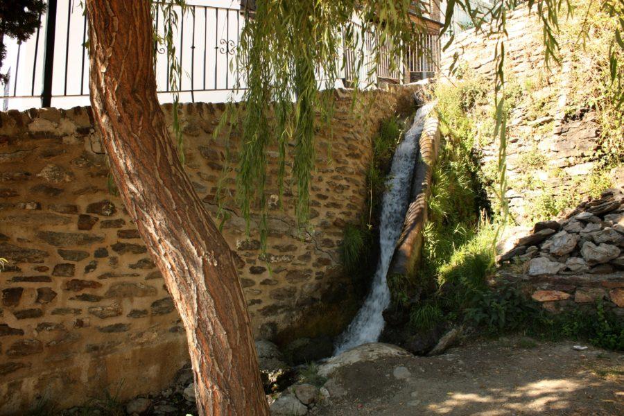 Apa curgatoare, Capileira, Spania