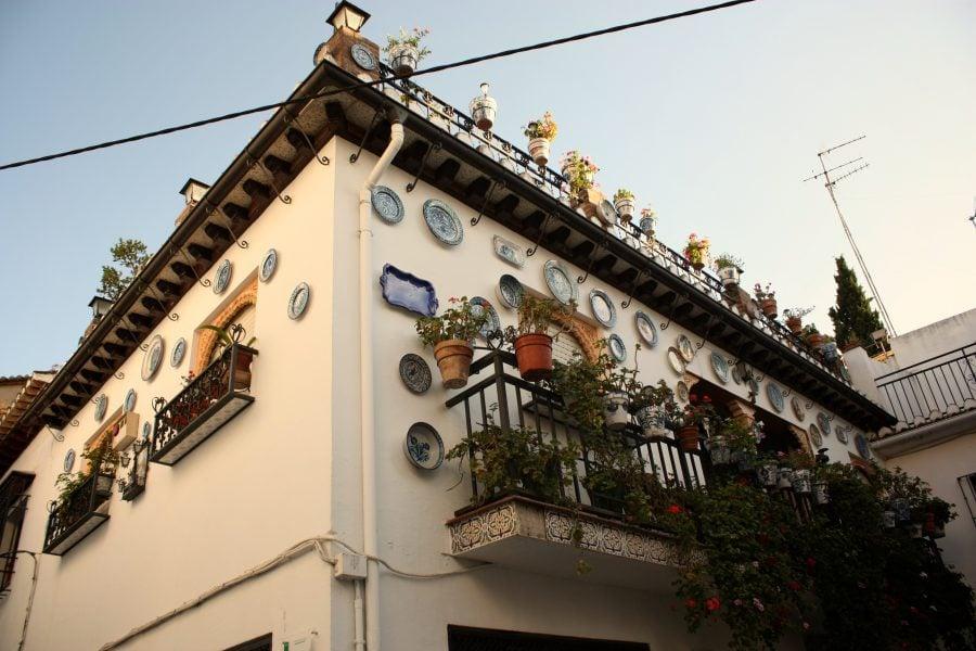 Casă decorată cu ceramică, Alhacaba, Granada, Andalusia