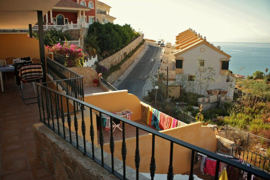 Casele terasate din Benalmadena, Costa del Sol, Spania