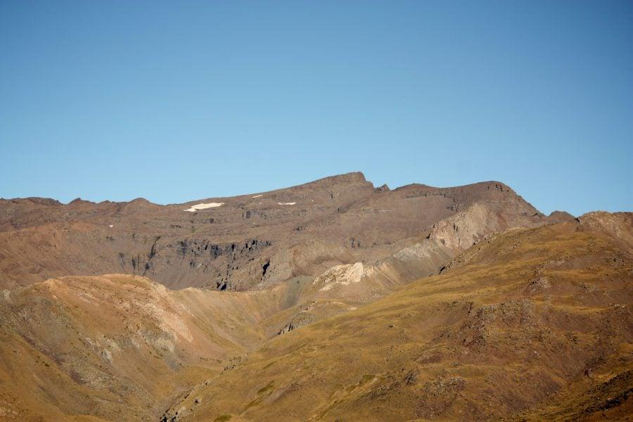 Profilul din Sierra Nevada, Andalusia, Spania