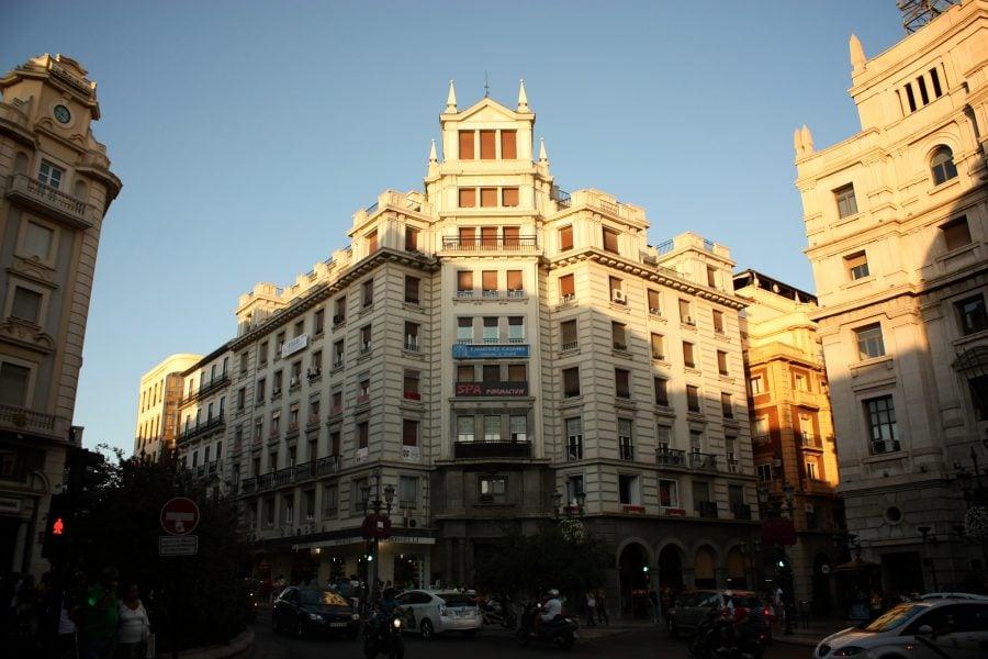 Clădiri în Granada