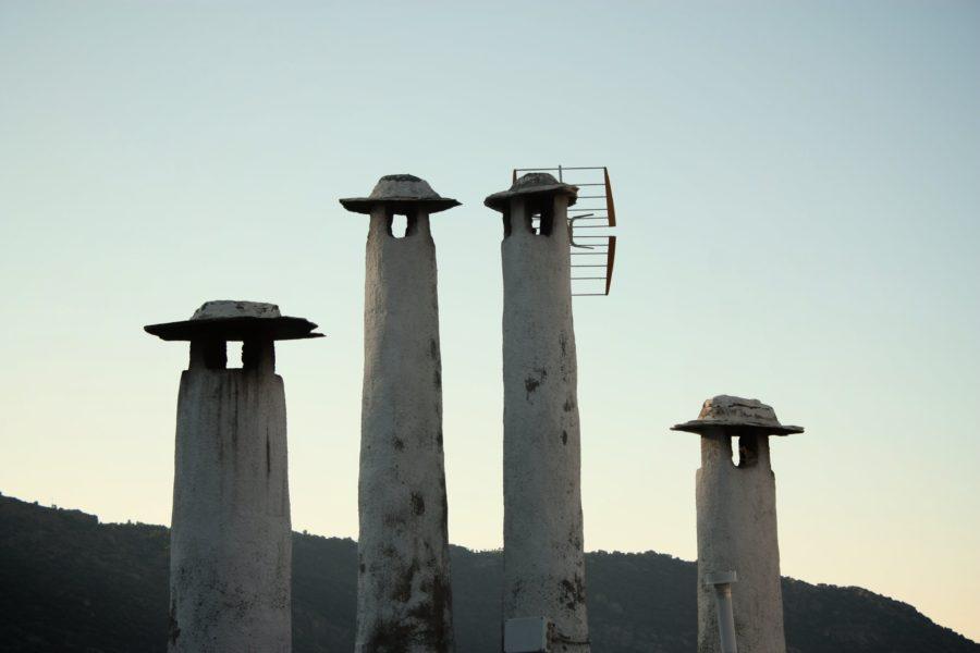 Cosuri de fum, sat Andaluzia, Spania