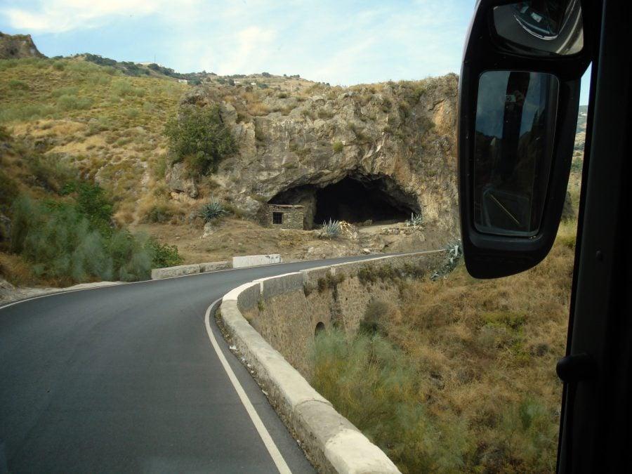 Drumul prin Alpujarra, Sierra Nevada cu autobuzul către Capileira