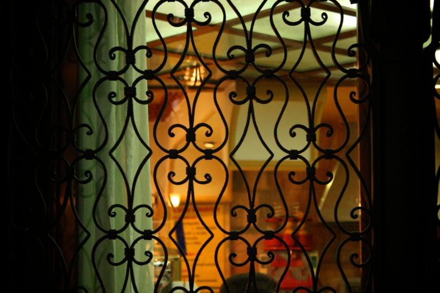 Gratii din fier forjat, model spaniol, Granada