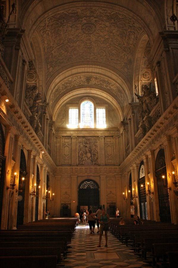 Interiorul Biserici del Sagrario, Sevilla