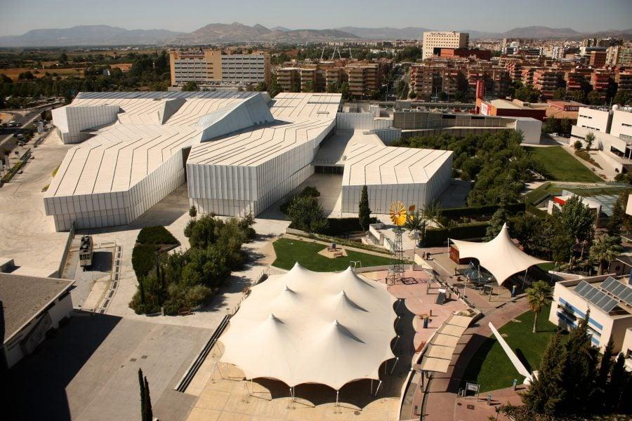 Muzeul Științelor din Granada, vedere din turn