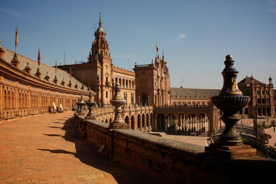 Piața Spania din Sevillla