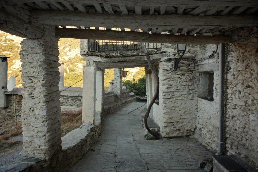 Satele albe terasate din Andaluzia, Spania