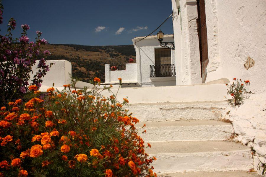 Slori pe strazile Capileirei, Andaluzia, Spania