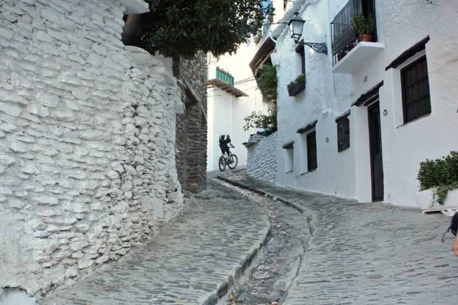 Strada pietruita in Capileira