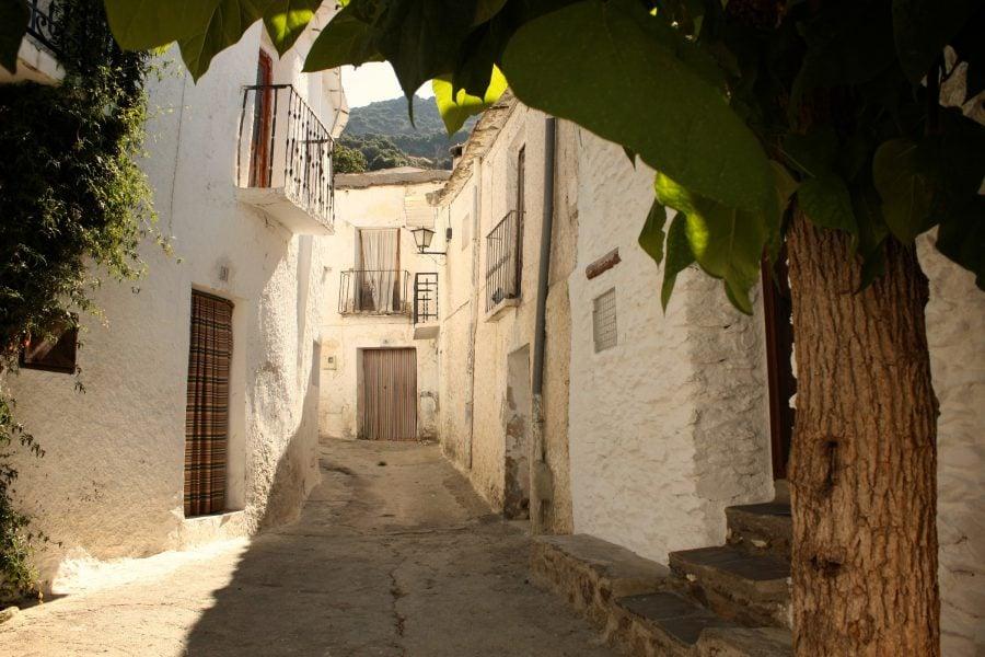 Straduță din Bubion, Alpujarras, Spania