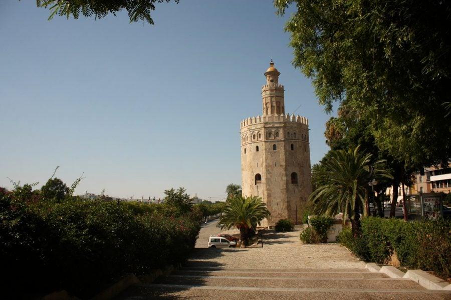 Torre del Oro sau Turnul de aur din Sevilla, Sevilia