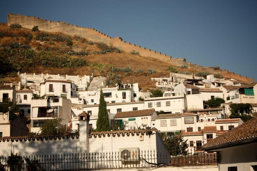 Zidul Albaicin, Granada, Spania
