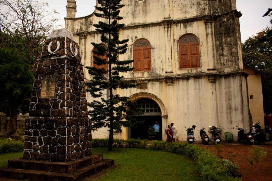 Biserica St. Francis în Fort Kochi (Fort Cochin), Kerala