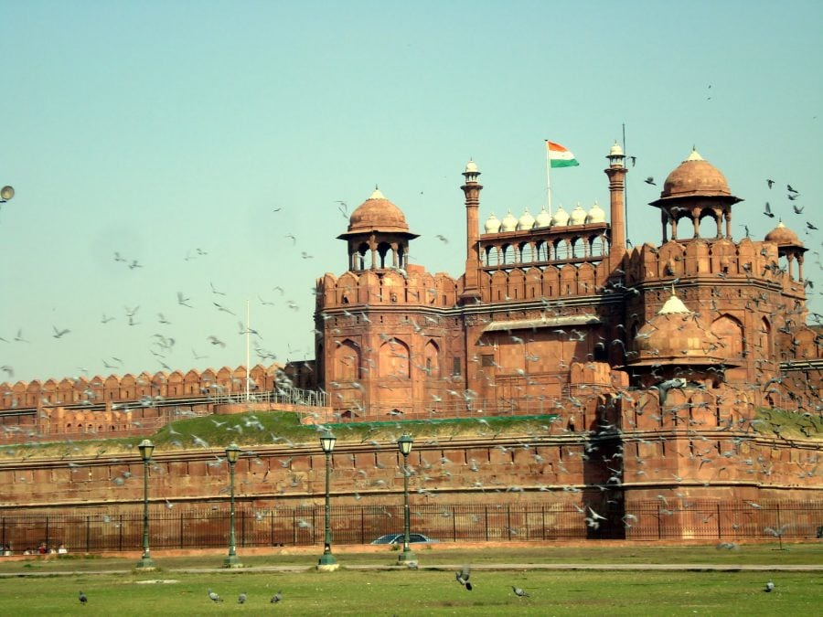 Fortul Roșu (Red Fort) în New Delhi, India