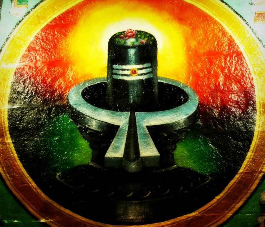 Lingam or proof of Cylon existence in India