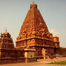 Templul Brihadeeswarar, Thanjavur, Tamil Nadu, India