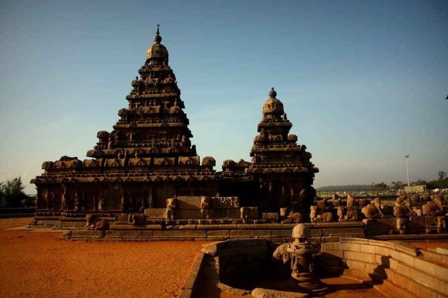 Templul de pe plajă, Mamallapuram, India