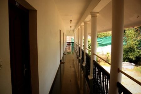 Holul de la etaj, Chalet Hotel Resorts, Kovalam, Kerala, India