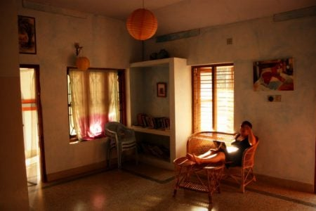Holul de la etaj, Sherin Cottage, Varkala, Kerala, India