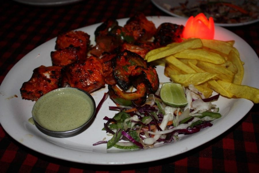 Fish Tikka (Blue Marlin) - peste spada gatit in cuptor tandoor