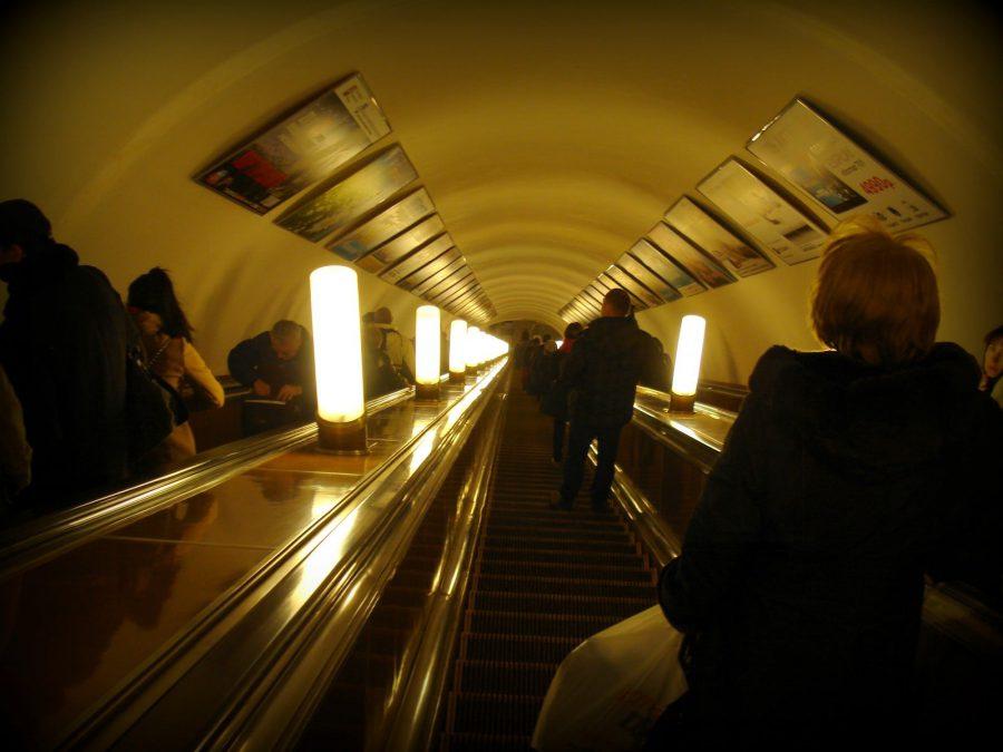 Scări rulante ale metroului din Moscova