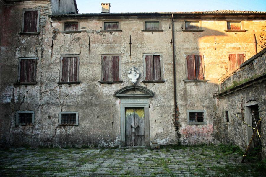 Casa de piatra în Liguria, Italia