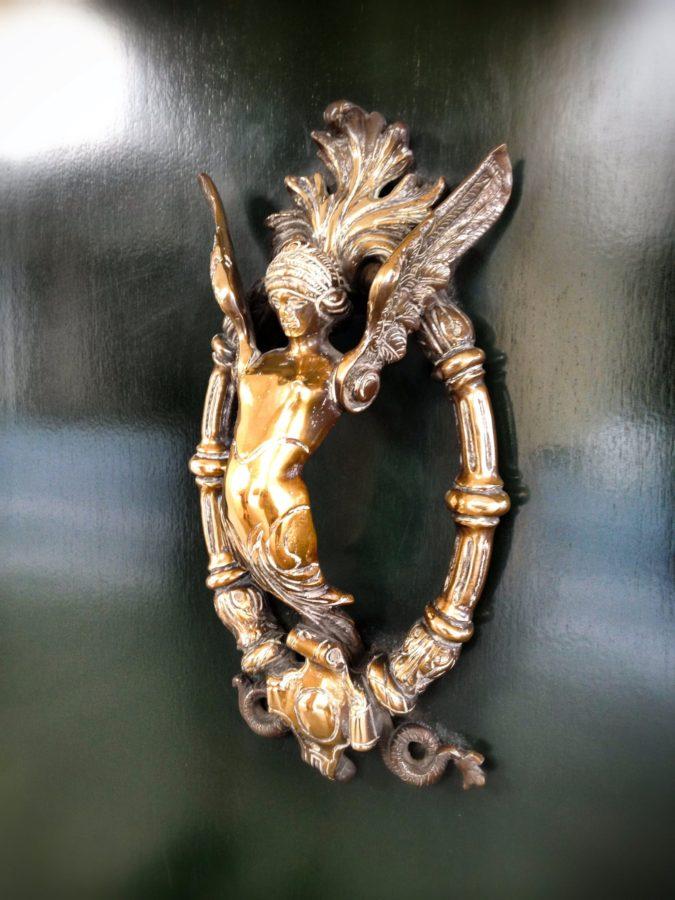 Decorațiune, mâner ușă Italia, Padova