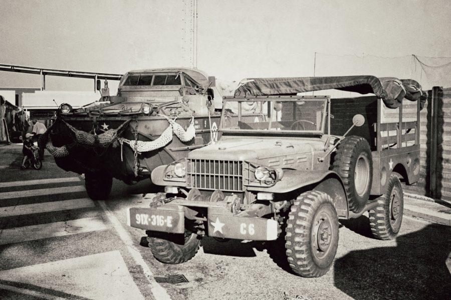 Jeep armată, expoziție în Italia