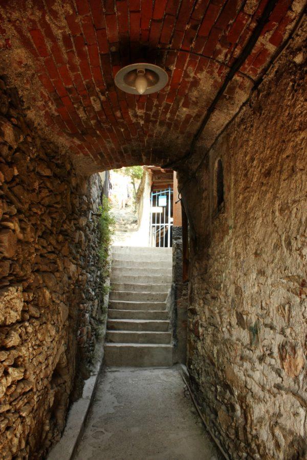 Scari în Vernazza, Cinque Terre, Italia