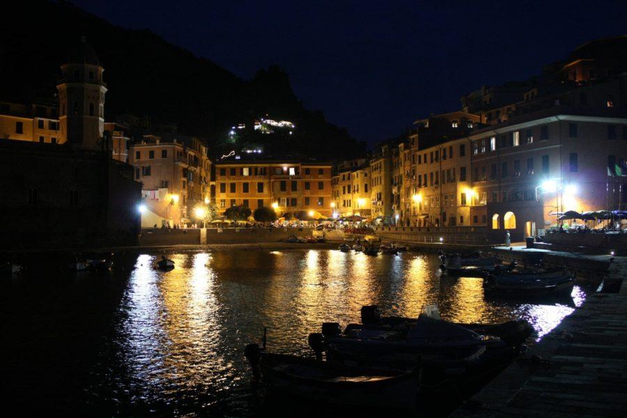 Vernazza noaptea, Cinque Terre, Liguria