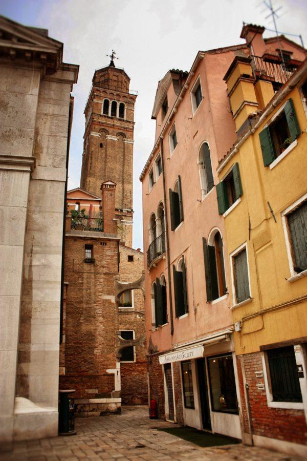 Turn biserica în Veneția
