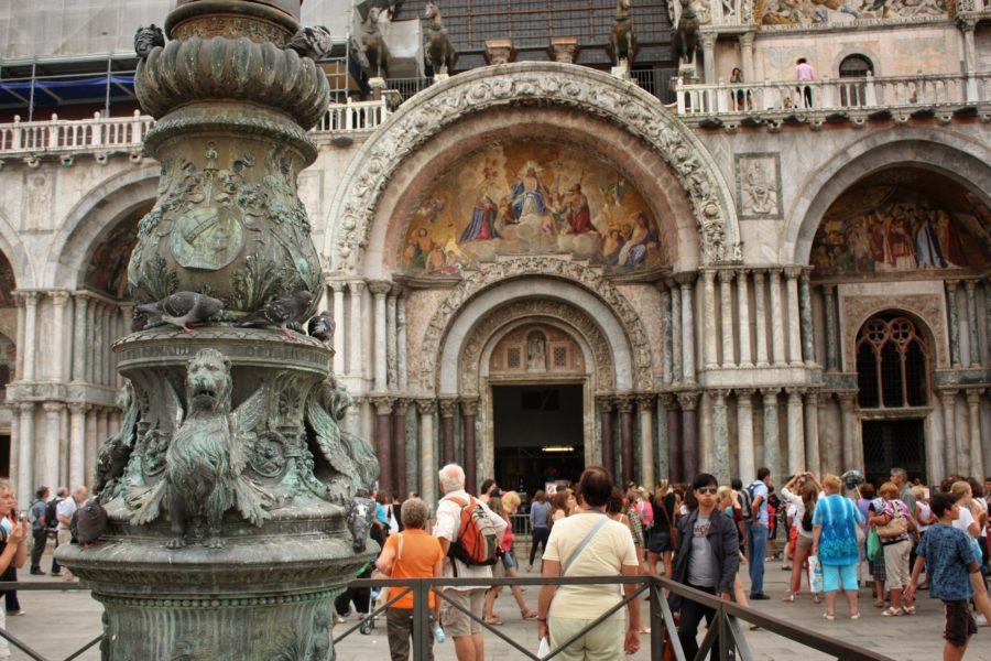 Intrare în basilica San Marco, Veneția