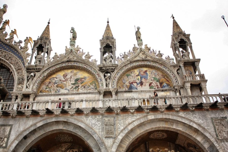 Arhitectura basilicii San Marco, Veneția