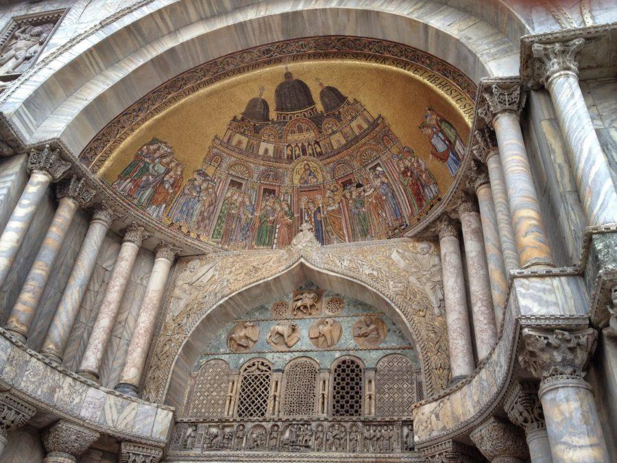 Detaliu arcadă, basilica San Marco, Veneția