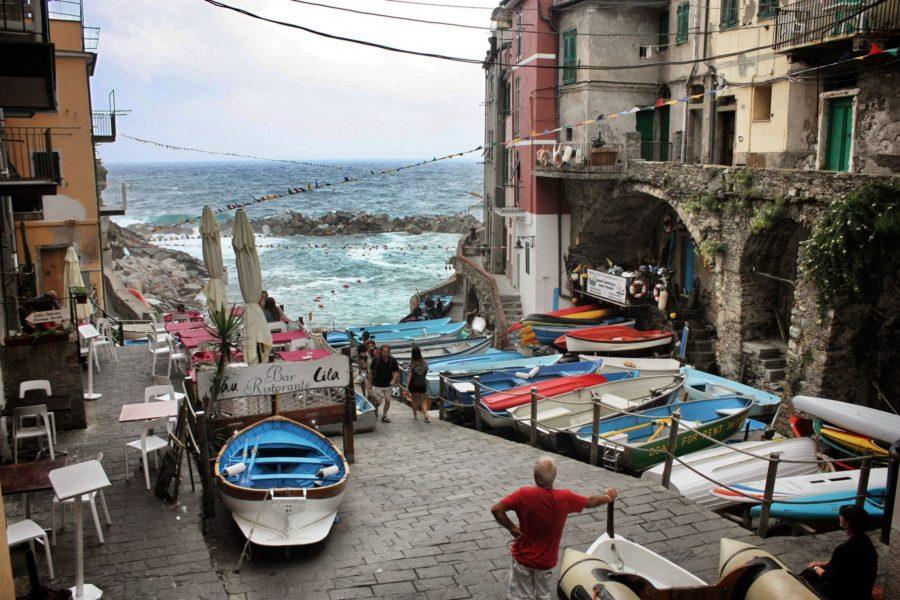 Vacanța în Riomaggiore, Cinque Terre, Italia