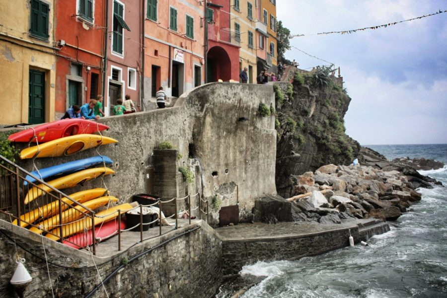 Vacanța în Cinque Terre, Italia