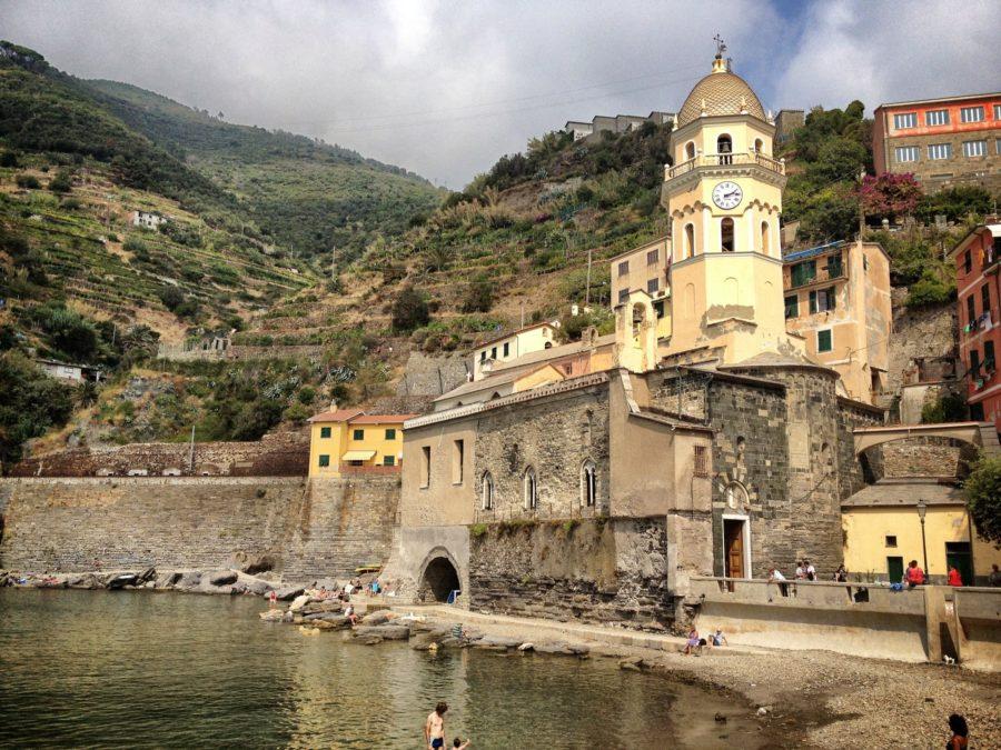 Biserica din Vernazza, Cinque Terre