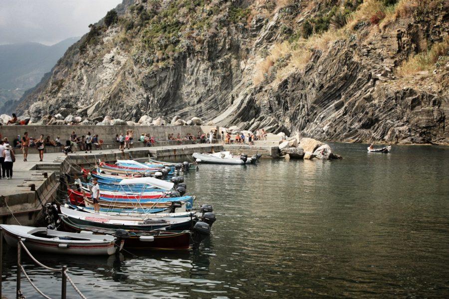 Barcile din Vernazza, Cinque Terre, Italia