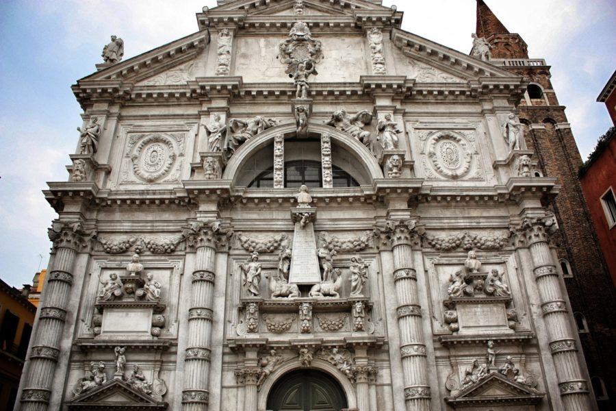 Architectură venețiană - fațadă clădire