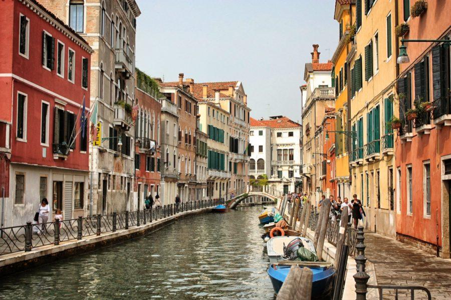 Clădirile colorate ale Veneției