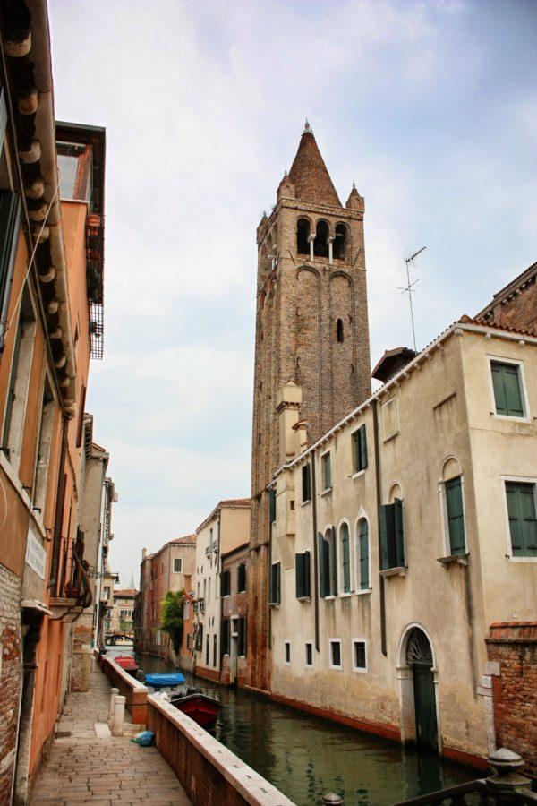 Clopotniță în Veneția