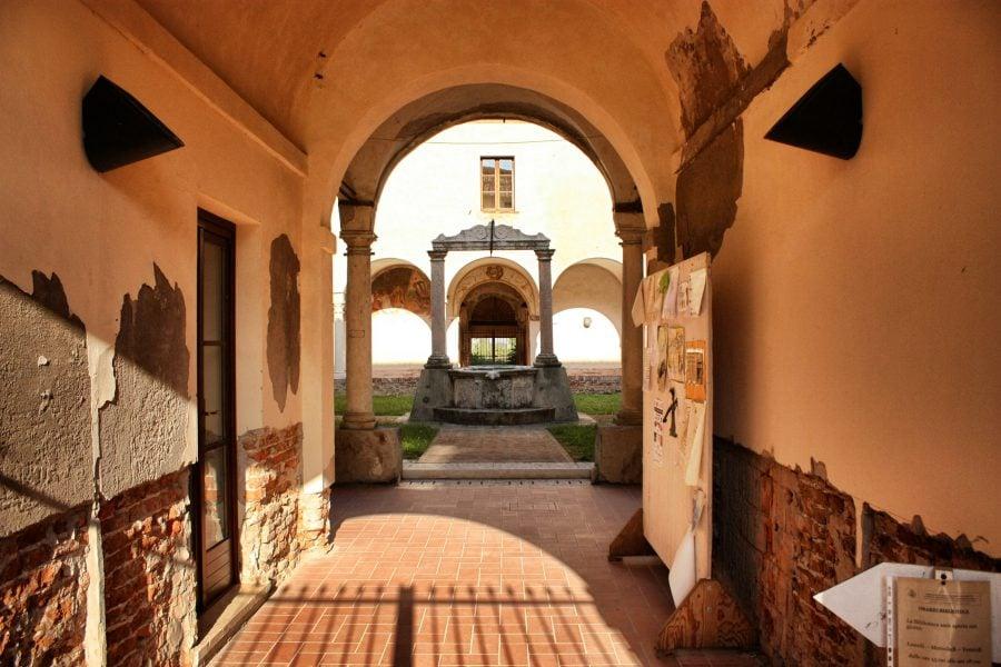 Mănăstire în Sanguinetto, Italia