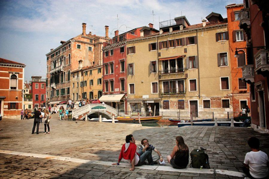 Piațetă în Veneția