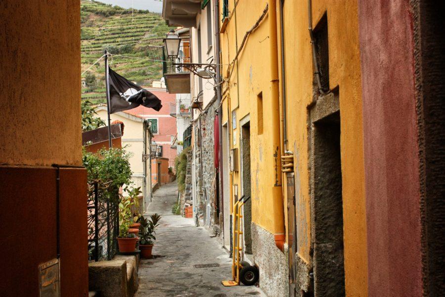 Plimbare prin satele din Cinque Terre, Liguria, Italia