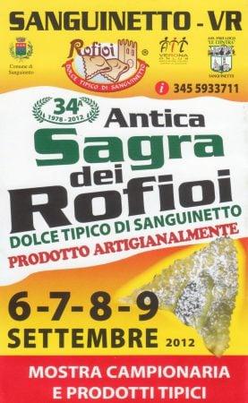 Poster Sanguinetto Rofioi, Cerea, Italia