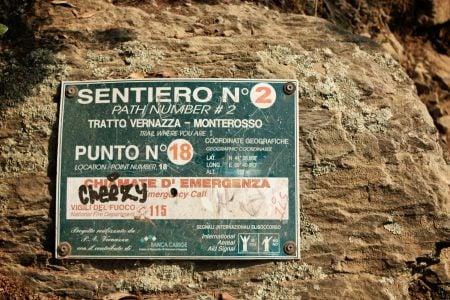 Poteca nr. 2, Monterosso - Vernazza, Cinque Terre, Italia