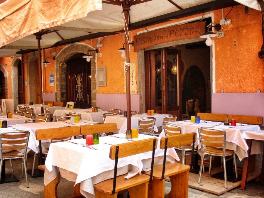 Restaurant in Monterosso al Mare, Cinque Terre, Italia